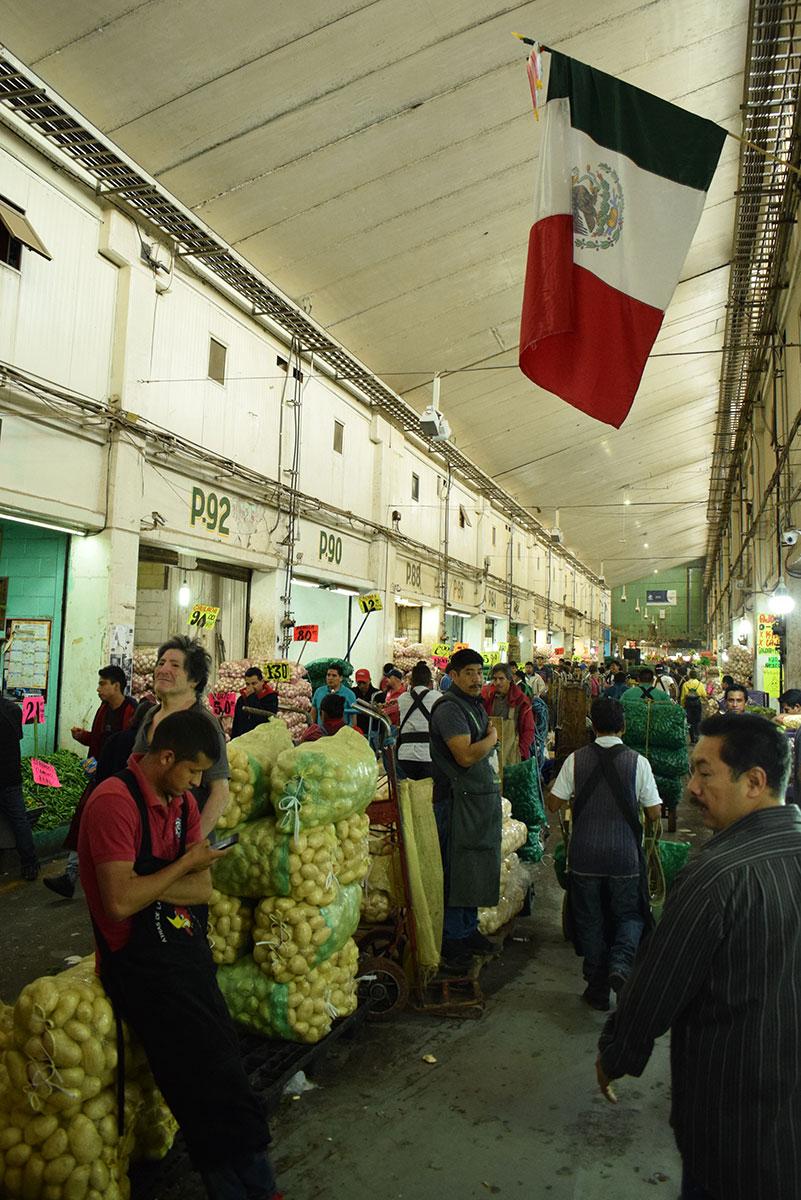 Mercado México –  Pasillos